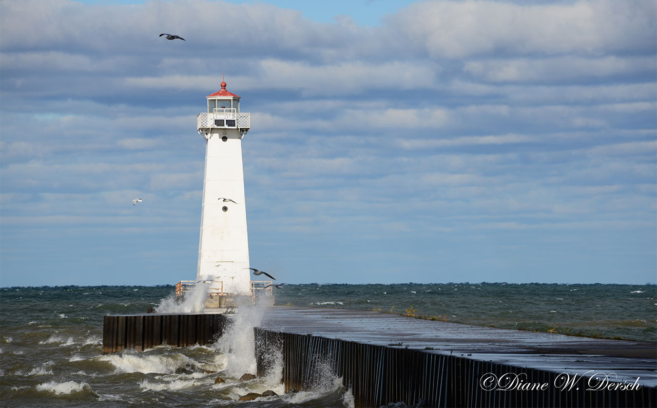 Sodus Bay Lighthouse on 10/26/16
