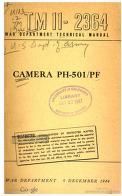 Cover of: Camera PH-501/PF